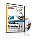 PowerPoint Baukasten 365+ - Handgezeichnete Edition - Mit über 750+ kunstvollen PowerPoint Vorlagen: - Für Business, Kommunikation, Marketing, ... Redner, Speaker, Personal, Teams, Vo
