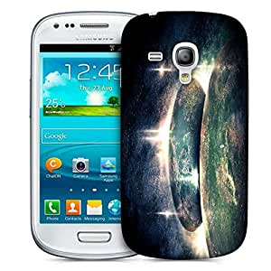 Snoogg Reflection Of Earth Printed Protective Phone Back Case Cover For Samsung S3 Mini / S III Mini