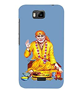 Om Sri Sai Annavastradaaya 3D Hard Polycarbonate Designer Back Case Cover for Huawei Honor Bee :: Huawei Y5C