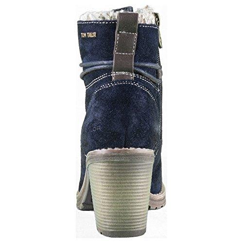 TOM TAILOR , Bottes à lacets femme Bleu