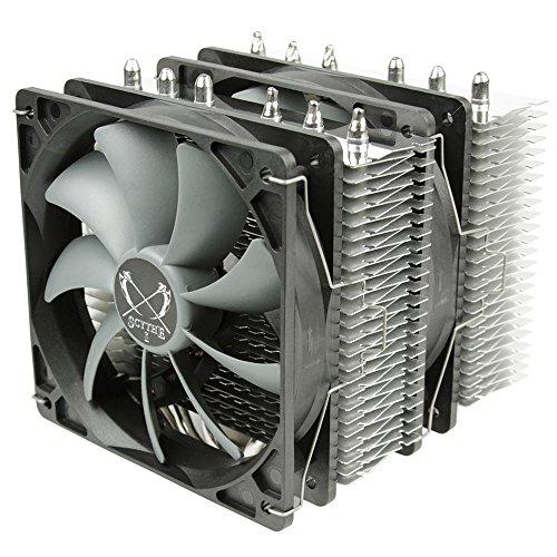 Scythe Fuma Dissipatore per CPU, Design Twin-Tower, Nero