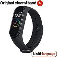 Versione globale Xiaomi Band 4 intelligente schermo a colori braccialetto frequenza cardiaca palestra musica Bluetooth 5.0 50