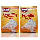 Dr Oetker Vanilla Sugar 20 pcs/ sachets - sold by Helen's Own - 20x 8g=160g Total - with full English Helen's Own Recipe booklet