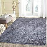 LOCHAS Teppiche für Wohnzimmer, Fluffy Shaggy Super weicher Teppich Geeignet als Schlafzimmerteppich Home Decor Kinderzimmer Teppiche Kids Mat, 160 X 230cm