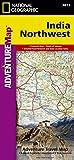India, Northwest: Travel Maps International Adventure Map (National Geographic Adventure Map, Band 3013)