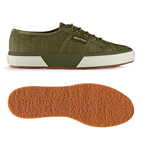 Superga 2750-Raffiau, Baskets mixte adulte Military