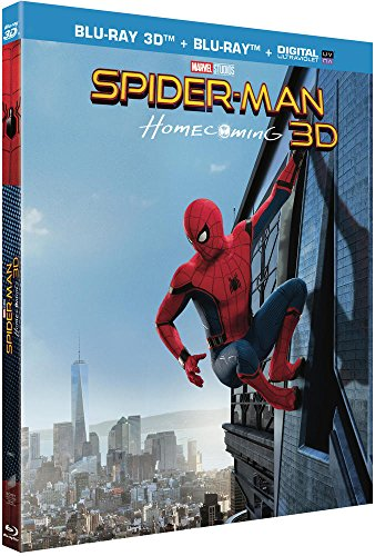 SPIDER-MAN : HOMECOMING - BD 3D + BD (UV) [Blu-ray 3D + Blu-ray + Digital UltraViolet]