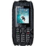 CROSSCALL - SHARK V2 Téléphone mobile étanche et flottant – Noir
