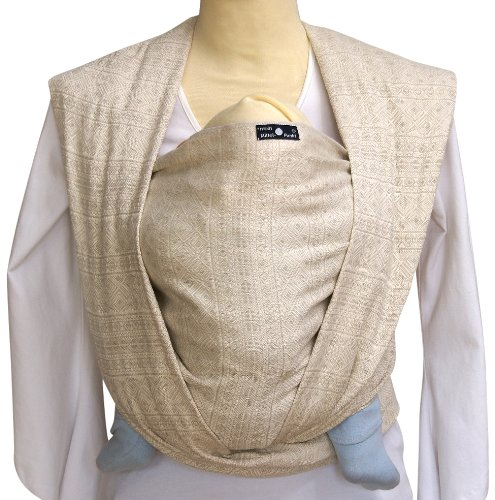 Tragetuch Didymos 230002 Babytragetuch, Modell Indio natur weiss thumbnail