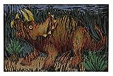 Melissa & Doug Scratch Art Color-Reveal Pictures Activity Book: Dinosaurs