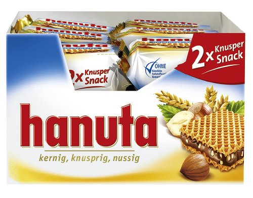 Ferrero Hanuta Doppelpack 18 Stück x 44g