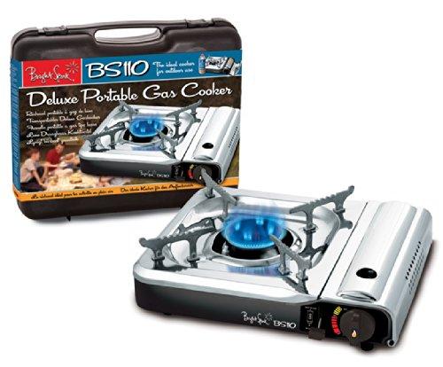 Bright Spark - Fornello da campeggio e barbecue in acciaio