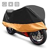 LOETAD Telo Coprimoto Copri Scooter Moto Impermeabile Antipolveri Anti-UV per Esterni [Versione Migliorata]