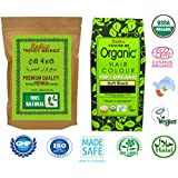 Radico 100 % Natural Herbal Trendy Mehndi with 100% Organic Soft Black Hair color (combo pack), 100g