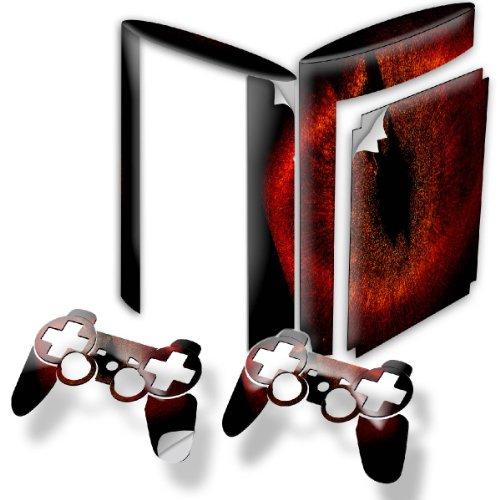 Universum, Designfolie Sticker Skin Aufkleber Schutzfolie mit Farbenfrohem Design für PlayStation 3 Super Slim (Gta 6 Für Playstation 3)