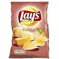 Lay's Chips de pommes de terre saveur fromage Le sachet de 130g - Prix Unitaire - Livraison Gratuit Sous 3 Jours