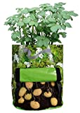 Esschert Design Kartoffelpflanztasche, 34 x 34 x 45 cm