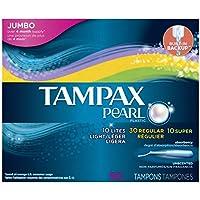 Tampax Pearl in plastica, 3 pezzi, luce Super/normale/assorbimento non Tamponi