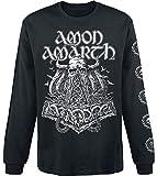 Amon Amarth Skullship Langarmshirt schwarz XL
