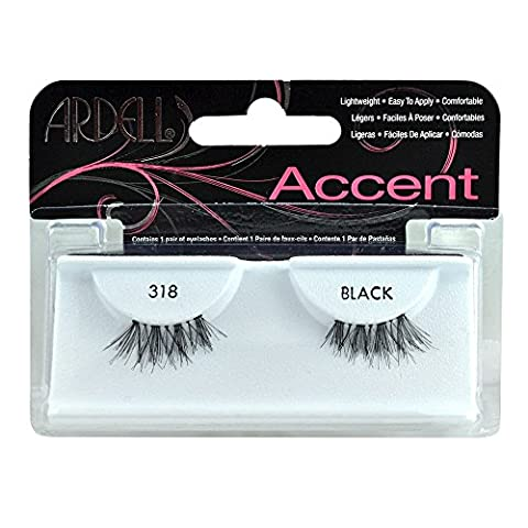 Ardell Accents Lashes #318 (Pack of 4) by American International Industry