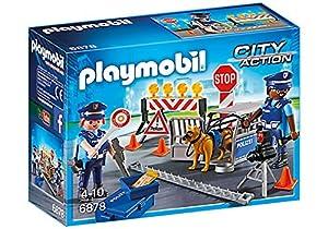 Playmobil City Action Police Roadblock - Sets de Juguetes (Acción / Aventura, 4 año(s), 10 año(s), Niño/niña, Multicolor, De plástico)