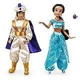 Price Toys Aladdin et Jasmine Classic Collection Doll par Disney. Comprend Set...