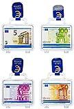 Heidel Euro-Köfferchen, 4er Pack (4 x 33 g)