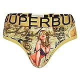 SUPERBUM MEN COTTON BRIEF PIN UP GIRL UN...