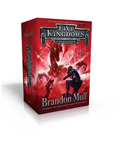 Brandon Crystal (Five Kingdoms Collection Books 1-3: Sky Raiders; Rogue Knight; Crystal Keepers)