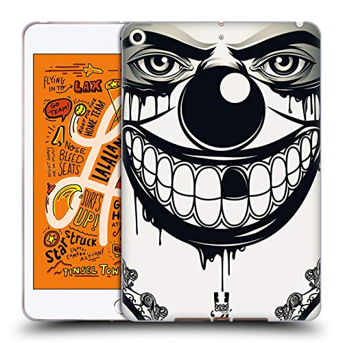 Head Case Designs Böser Clown Bandana Soft Gel Huelle kompatibel mit iPad Mini (2019) (Bandana Case Mini Ipad)