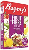 #1: Bagrry's Fruit n Fibre Mixed Fruit with Almond and Raision Oats, Wheat Muesli Cereal, 500g
