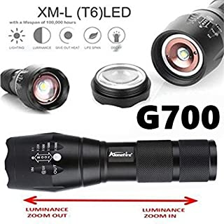Fashion G700 Tactical Flashlight LED Military Lumitact Alonefire
