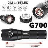 Fashion G700 Tactical Flashlight LED Military Lumitact Alonefire