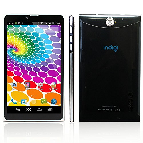 'indigiâ ® Phablet 7 LCD Slim Tablet Phone - Support 3 G Wireless AT & T T-Mobile StraighTalk, [UK Import]