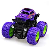 Ohwens Remote Control Car, RC Car, 1 Pcs Car Off Road Vehicle Toy Four-Wheel Drive Inertia Shockproof for Children Kids