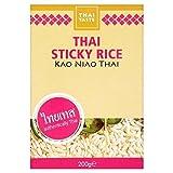 Thai Taste 200g De Arroz Pegajoso (Paquete de 2)