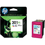 HP CH564EE # 301 Ink Cartridge – Blue, Pink, Yellow