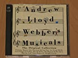 ANDREW LLOYD WEBBER'S MUSICALS. THE ORIGINAL COLLECTION. 1995 22 TRACK UNBARCODED DOUBLE CD.