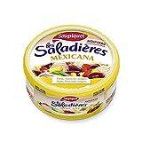 Saupiquet - Servidores De Ensalada Mexicana Merienda 3X220G. - Saladières Mexicana Snacking 3X220G - Precio Por Unidad - Entrega Rápida