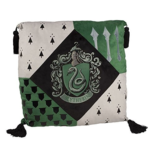 Harry Potter Slytherine casa cojín oficial de Warner Bros, Studio Tou
