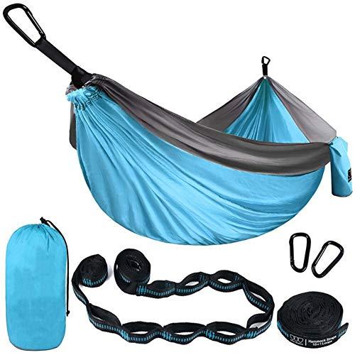 AFFC Outdoor Camping Hängematte - tragbarer Indoor Outdoor Rucksack fürs Überleben und Reisen, Bergsteigen, Hof, Strand, Reisen,F