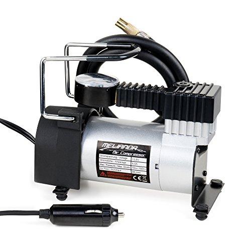 MELIANDA MA-8500 12V Auto Kompressor Zigarettenanzünder, 85W Leistung inkl Tragetasche - Auto-luft-kompressor