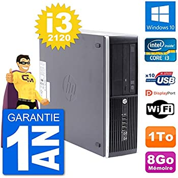 HP PC Compaq Pro 6300 SFF Intel i3-2120 RAM 8 GB Disco Duro 1 TB ...