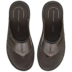 Rockport Darwyn Thong Brown...