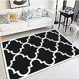 GAOJIAN 3D-Druckteppiche Wohnzimmer Schlafzimmer Teppich Nachttisch Küchenmatten Decken Home Rechteckige Fußmatte Gleitschutz Polyester Faserteppich, a, 80 * 120cm