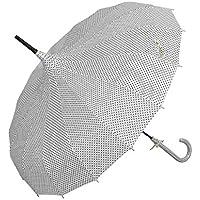 4PLU0006N paraguas - naturales con diseño de lunares ca.