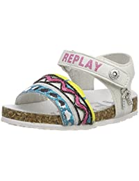 Baby Girls Hollies Sandals, Pink (Fuxia), 3-9 Months Replay