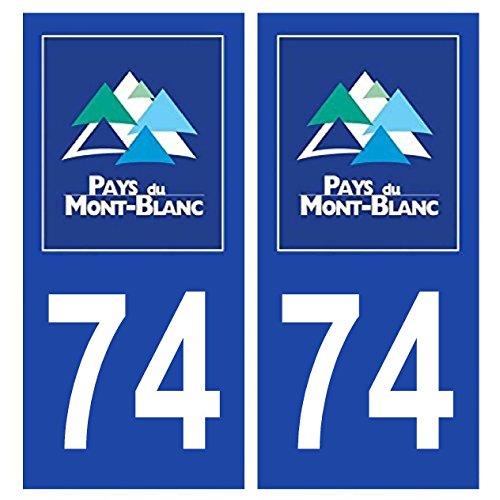 2-autocollants-de-plaque-dimmatriculation-auto-74-mont-blanc-pays