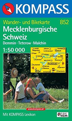Mecklenburgische Schweiz: 1:50.000. Wander- und Bikekarte + Lexikon. Demmin, Teterow, Malchin. GPS-genau