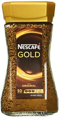 Nescafé Gold, löslicher Kaffee, 100g Glas